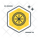 Limonene Lemon Chemistry Icon