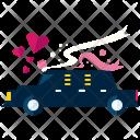 Limousine Car Love Icon