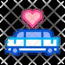 Car Limousine Wedding Icon