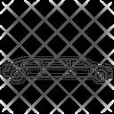 Limousine Luxury Sedan Icon
