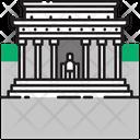 Lincoln Memorial Icon