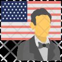 Abraham Lincoln Birthday Icon