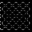 Line Pattern Black Icon