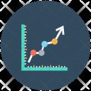 Line Graph Progress Icon
