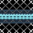 Line Track Dash Icon