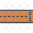 Line Finish Track Icon