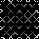 Line List Paragraph Icon