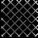 Line Chart Analytics Icon