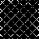 Line Chart Line Graph Line Plot Icon