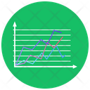 Line Chart Data Analytics Infographic Icon