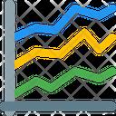 Line Chart Line Graph Graph Icon