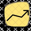 Line Chart Analytics Growth Growth Chart Icon