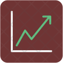 Line Graph Chart Icon
