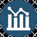 Line Chart Growth Graph Analytics Icon