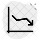 Line Chart Down Icon