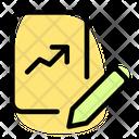 Line Chart Paper Edit Icon