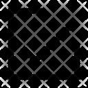 Line checkbox Icon