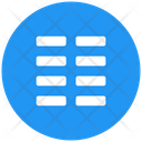 Line Columns Icon