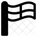 Line Flag Icon