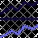 Line Grapg Line Chart Graph Icon