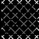 Line Graph Data Analysis Analytics Icon