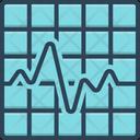 Line Graph Line Graph Icon