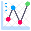 Line Graph Line Chart Graph Icon