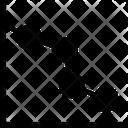 Line Graph Chart Diagram Icon
