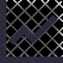 Line Graph Chart Icon