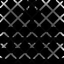Line Spacing Adjustment Spacing Icon