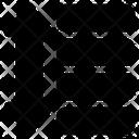 Line Spacing Text Editor Icon