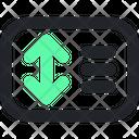 Line Spacing Space Design Icon