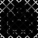 Line Stream Icon