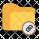 Link Folder Data Icon