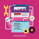 Link Building Seo Icon