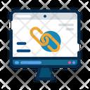 Website Link Unlink Icon