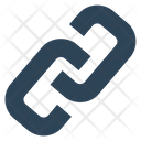 Social Hyperlink Chain Icon