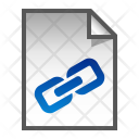 Link File Paper Icon