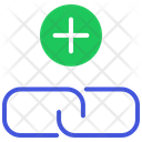 Link Building Add Link Chain Icon