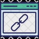 Link Link Building Linked Website Icon