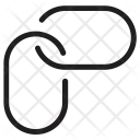 Chain Link Building Icon