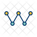 Link Building Network Icon