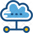 Cloud Links Hierarchy Icon