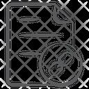 Link File Attachment File File Connection Icon