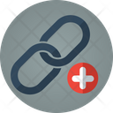 Link Plus Add Link Attach Icon