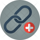 Link Plus Attach Icon