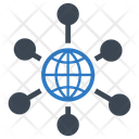 Link Wheel Global Icon