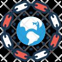Linkage Globe Seo Icon
