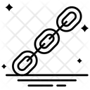 Chain Linked Metal Chain Icon