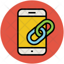 Linked Mobile Linkage Icon